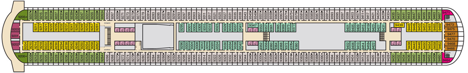 Carnival Victory 2013 Deck Plans