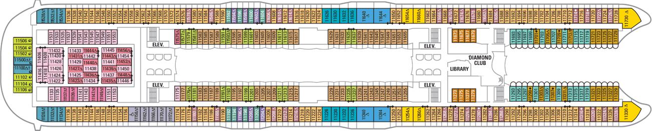 oasis of the seas deck plan pdf