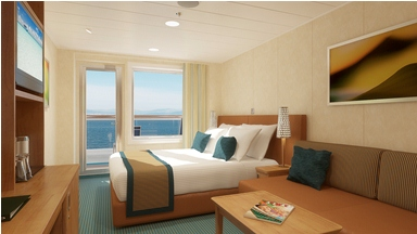 Carnival Breeze cabin 8312