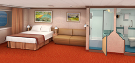 Carnival Dream cabin 1284