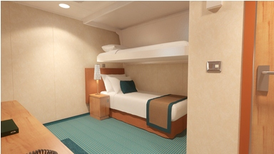 Carnival Magic cabin 2216