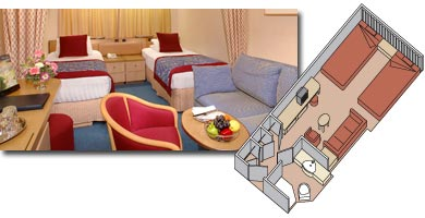 Amsterdam cabin 1800