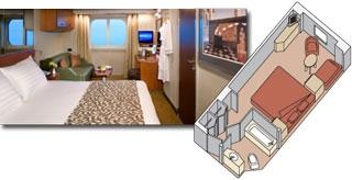 Eurodam cabin 10001