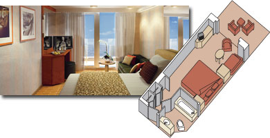 Eurodam cabin 4001