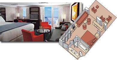Eurodam cabin 6090
