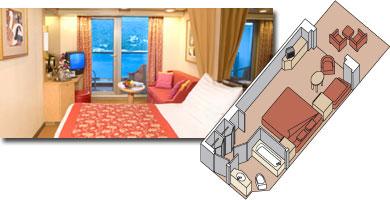 Oosterdam cabin 7001