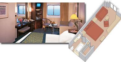 Prinsendam cabin 300