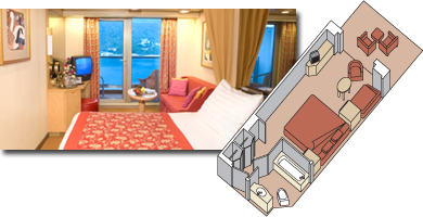 Zuiderdam cabin 7001