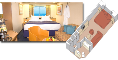 Zuiderdam cabin 1001