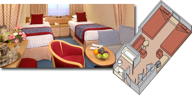 Veendam cabin 302