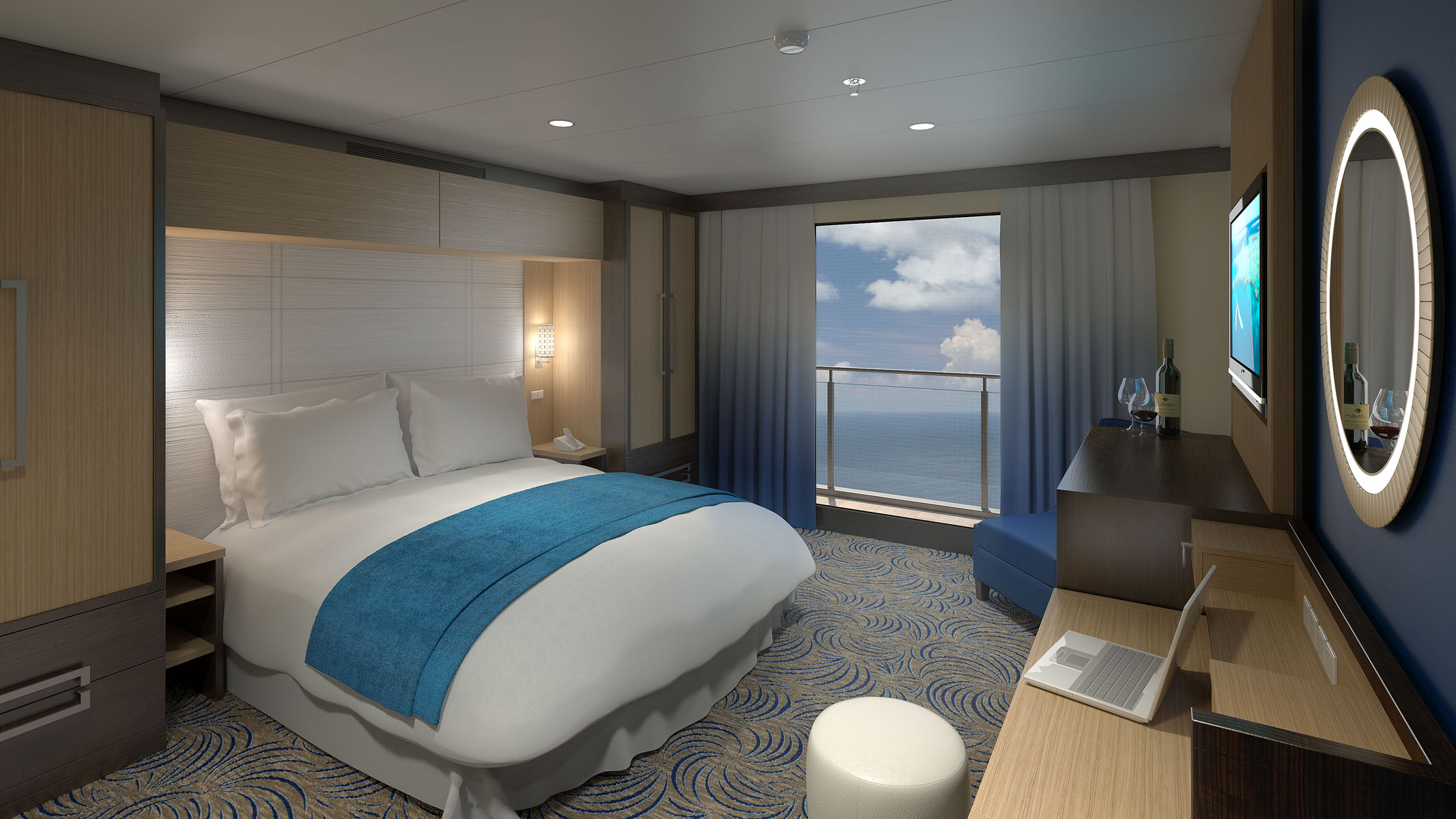 Golden Princess cabin P201