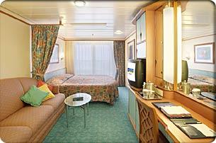 Adventure of the Seas cabin 1230