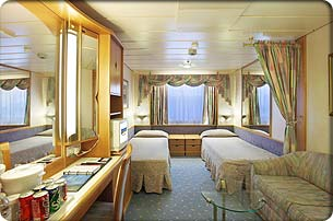 Enchantment of the Seas cabin 3150