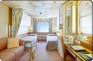 Legend of the Seas cabin 3000