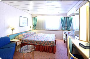 Majesty of the Seas cabin 9000