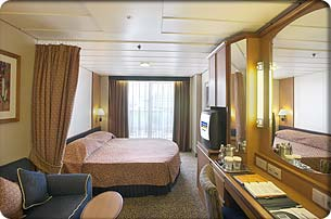 Radiance of the Seas cabin 8672